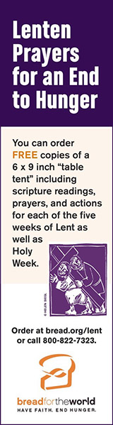 BreadfortheWorld – Lenten prayers